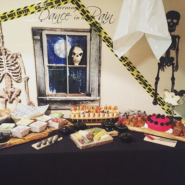 Halloween party #soireeventz #partyfood#