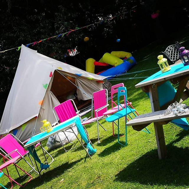 Yesterdays garden party #belltenthire #g