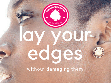 How to Lay Your Edges Without Damaging Your Hairline