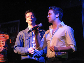 """Singing """"Jersey Boys"""" at Broadway Sessions. NYC"""