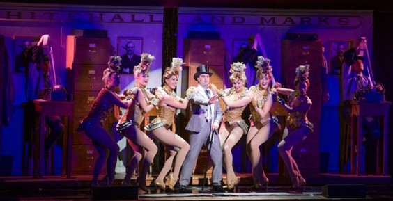 """Leo Bloom on the National Tour of Mel Brooks """"The Producers"""""""