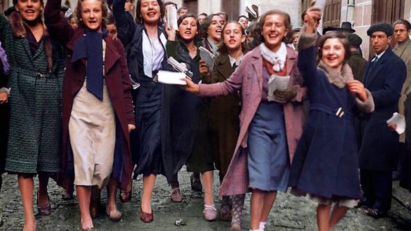 PRIMERAS ELECCIONES GENERALES CON SUFRAGIO UNIVERSAL, 1933