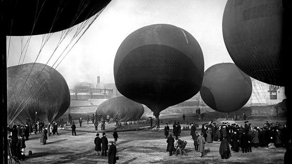 CONCURSO DE GLOBOS, 1913