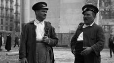 CONDUCTORES DEL TRANVÍA, 1922