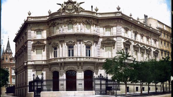 PALACIO DE LINARES A FINALES DEL SIGLO XIX