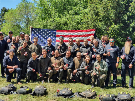 With Nothing, We Can Do Anything: Finishing GORUCK Team Assessment