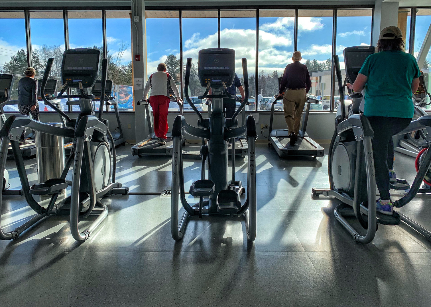 Variety of Cardio Equipment