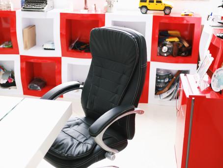 A importância de ter uma boa cadeira de escritório.