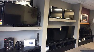 Geoff Small Electronics showroom