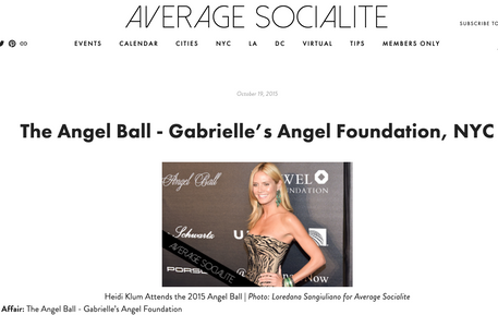 Heidi Klum: The Angel Ball