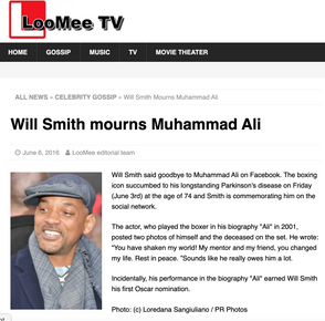 Will Smith: LooMee TV