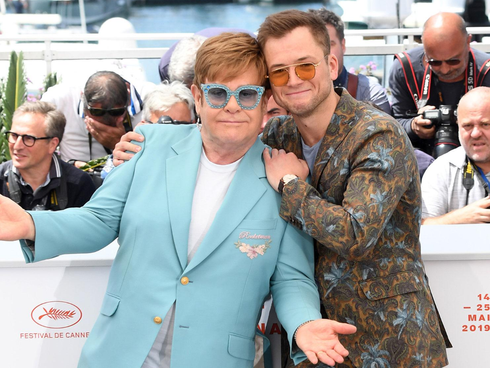 "Cannes 2019: Elton John brilha com a estreia do musical ""Rocketman"""
