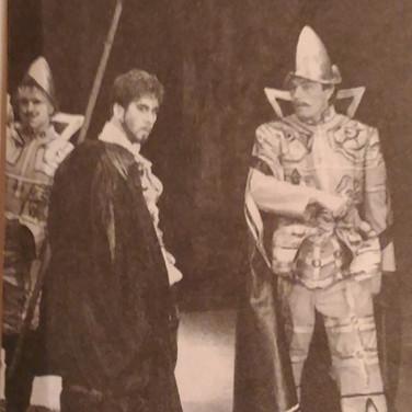 Александр Бобровский в спектакле 'Рюи Блаз'