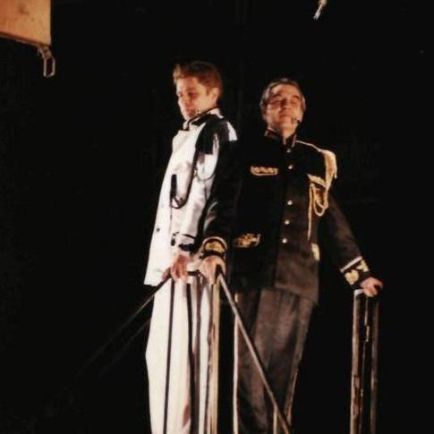 Александр Бобровский в спектакле 'Игра'