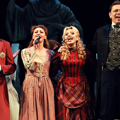 Александр Емельянов, Лили Болгашвили, Ирина Климова, Александр Бобровский