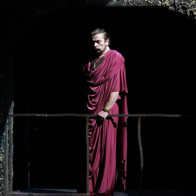 Александр Бобровский в спектакле 'Иисус Христос - суперзвезда'