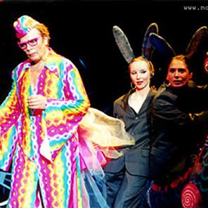 Александр Бобровский в спектакле 'Роковая опечатка'