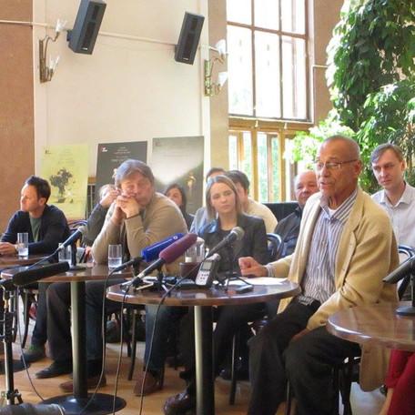 Пресс-конференция А.С.Кончаловского 13 мая 2016 года