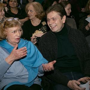Ольга Остроумова, Александр Бобровский