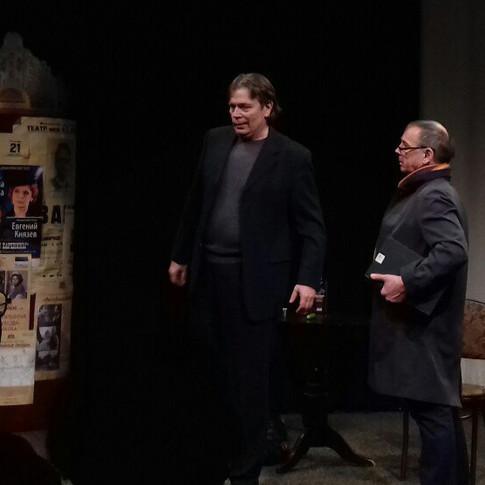 """Александр Бобровский - Международный день театра """"Странные люди..."""""""