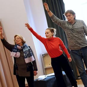 Ольга Остроумова, Анастасия Пронина, Александр Бобровский