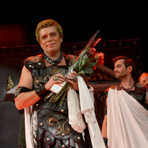 Александр Бобровский в спектакле 'Римская комедия (Дион)'