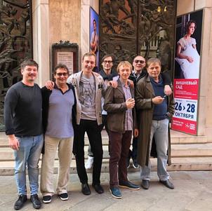 Владислав Боковин, Александр Домогаров, Евгений Ратьков, Владимир Прокошин, Антон Аносов, Виталий Кищенко, Александр Бобровский