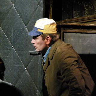 Александр Бобровский в спектакле 'Заповедник'