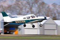 N3006K Departing