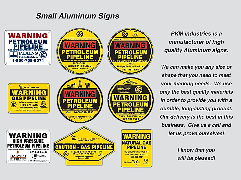 Pipeline Signs
