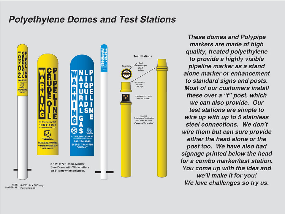 Poly Dome Markers & Test Stations