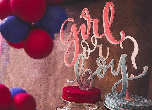 Topper Girl or boy