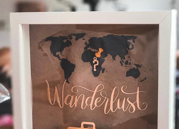 Okvir kasica za putovanja Wanderlust
