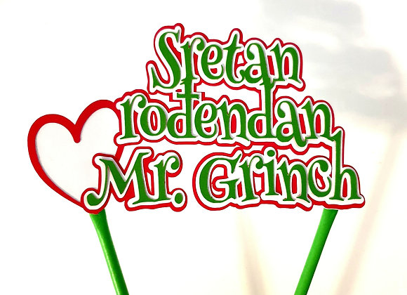 Topper Mr. Grinch