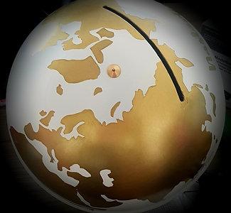 Globus - kutija za koverte
