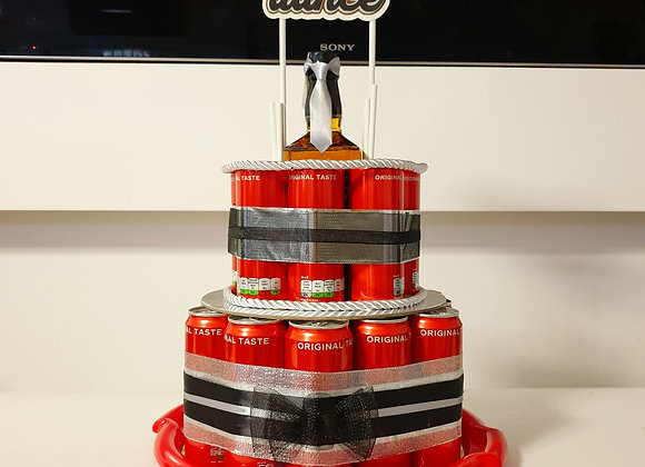 Jack Daniel's Coca Cola torta od limenki
