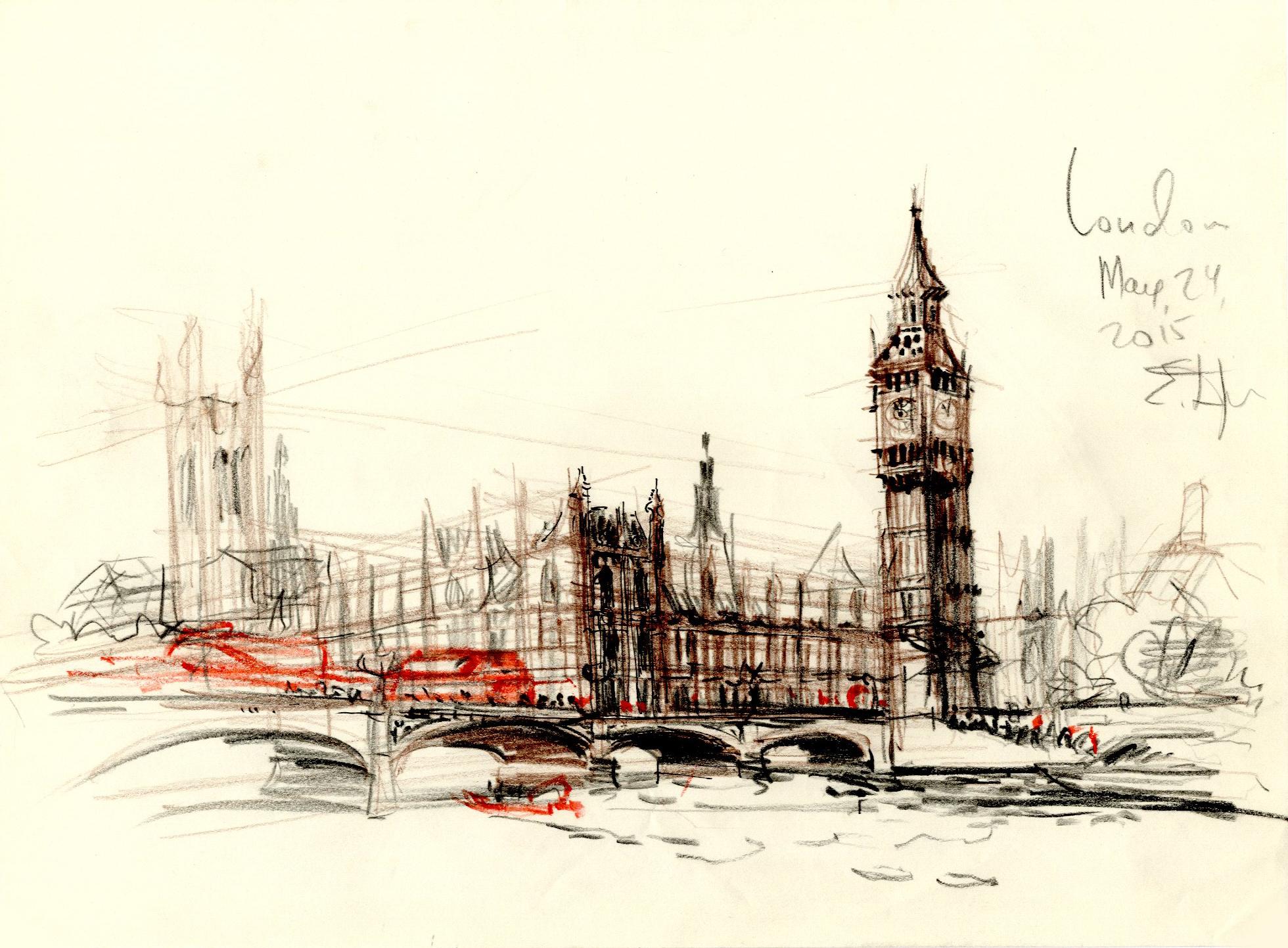 Вестминстерский мост и Биг Бен