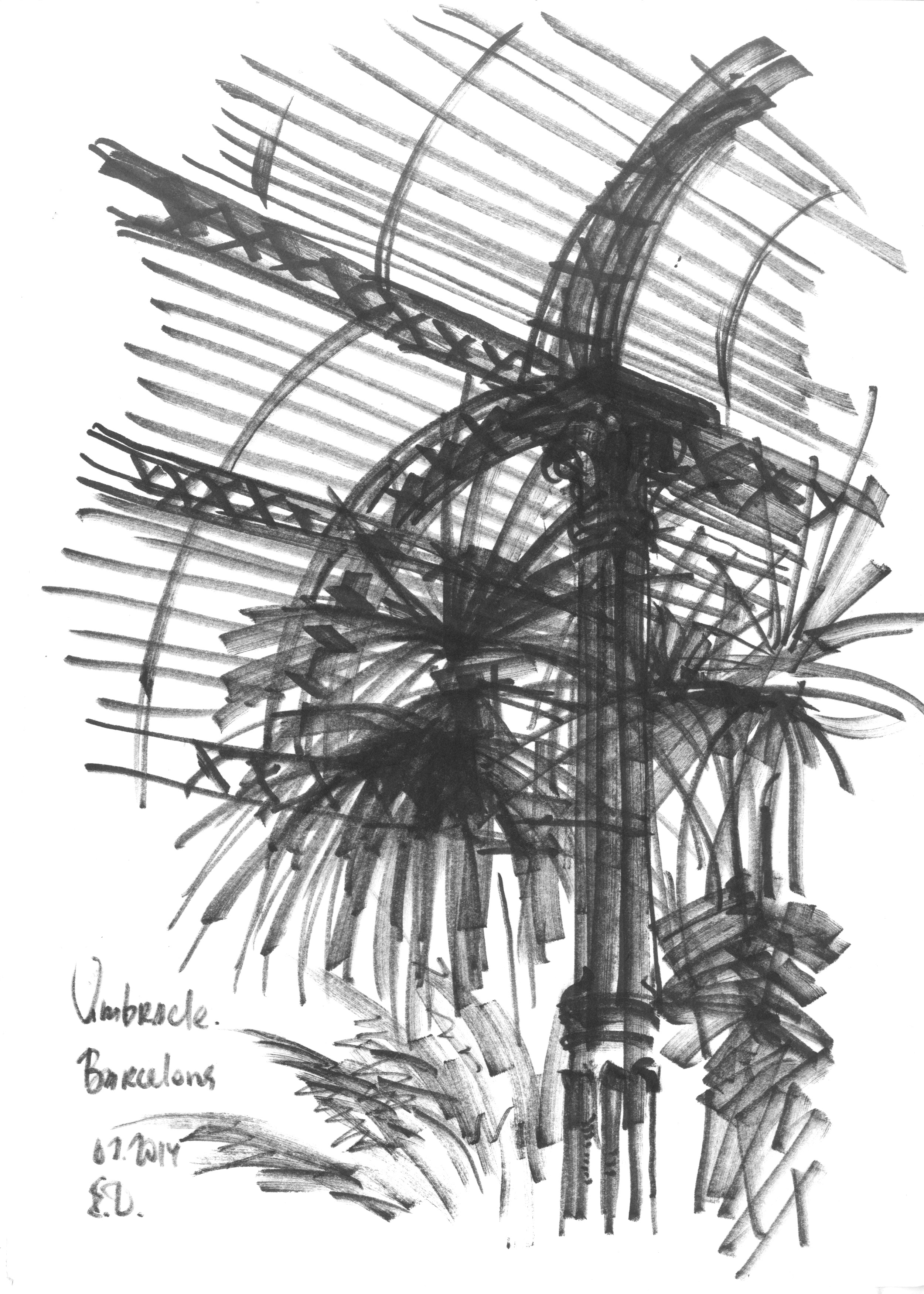 The greenhouse in Parc de la ciutadella