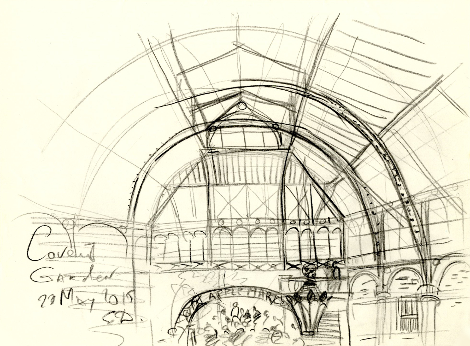 Covent garden from Jamy Oliver's