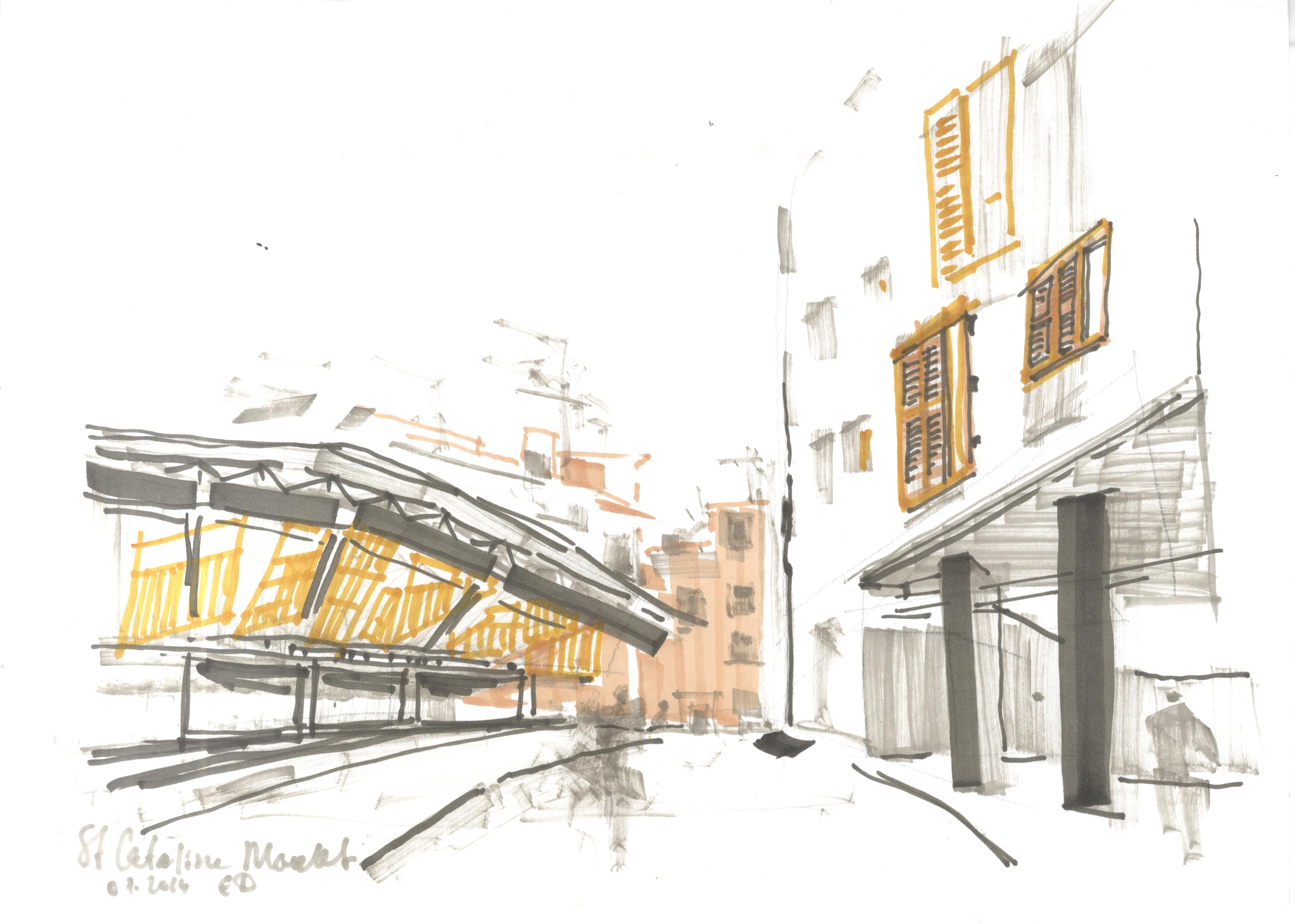 Рынок Св. Катерины. Барселона