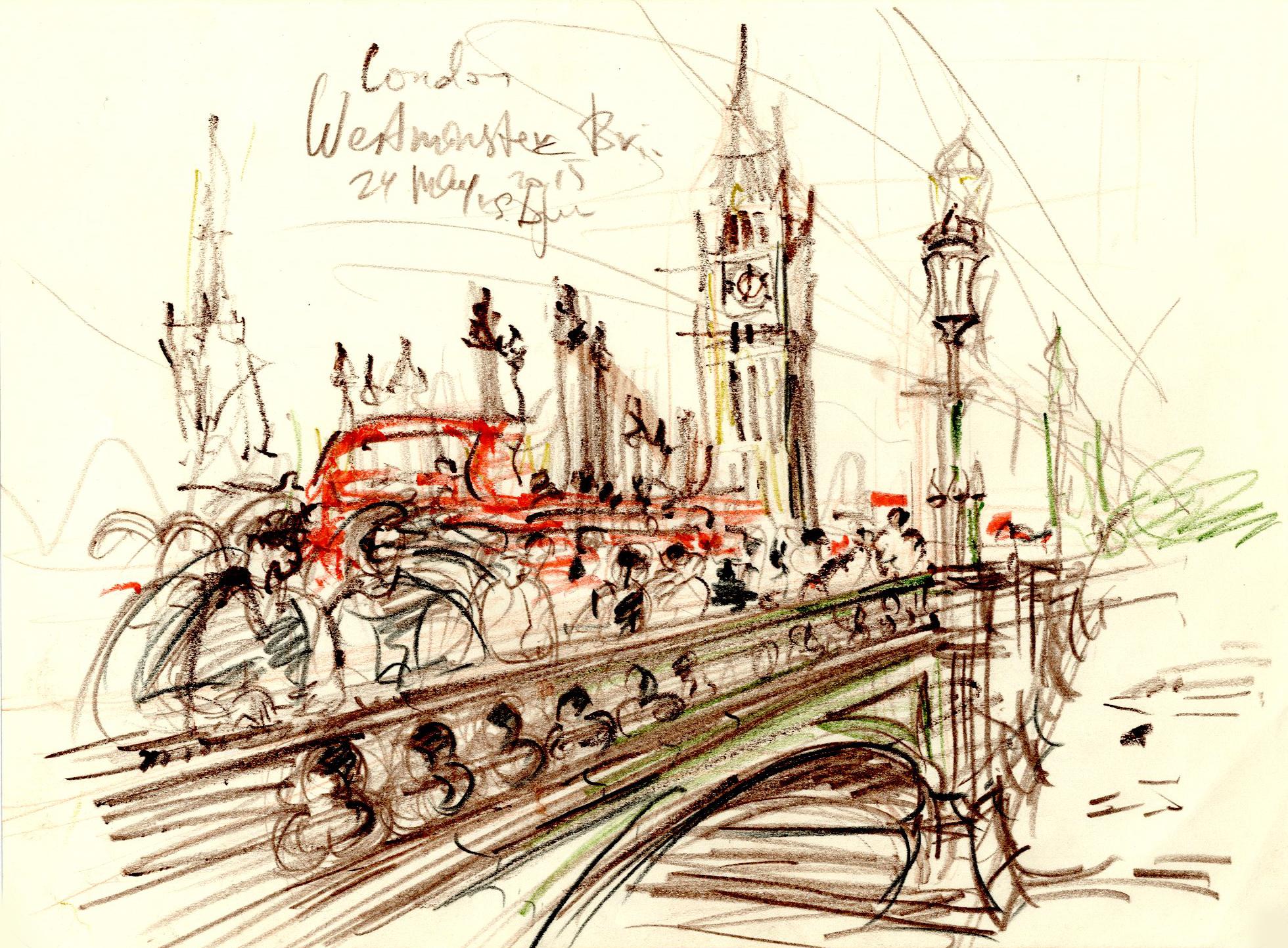 На Вестминстерском мосту