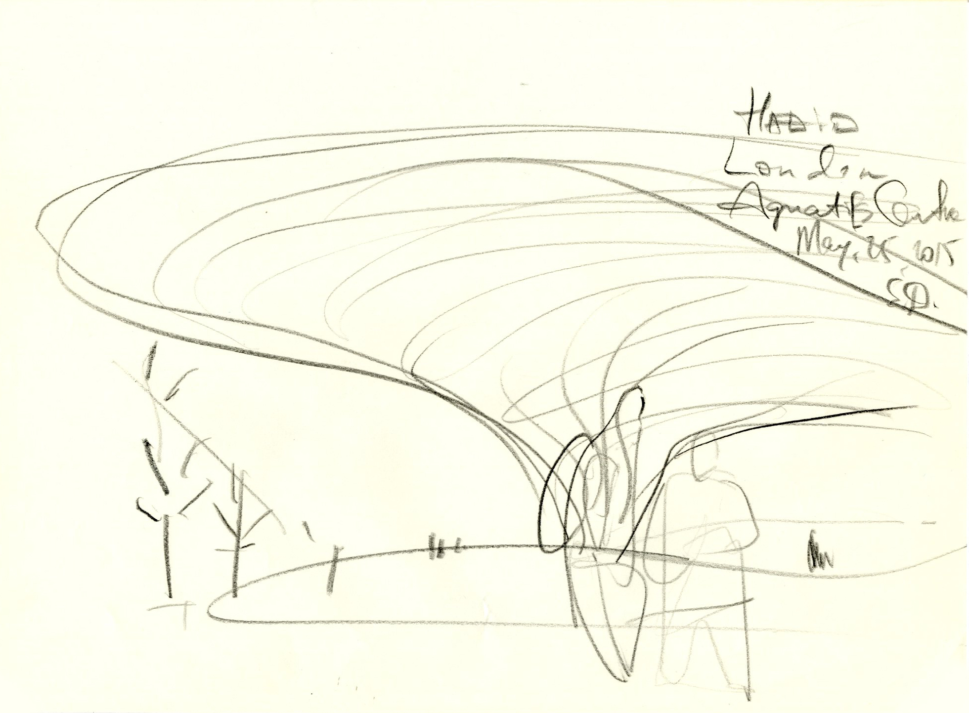 Aquatics Centre for Olympic games 2012  by Zaha Hadid Architects