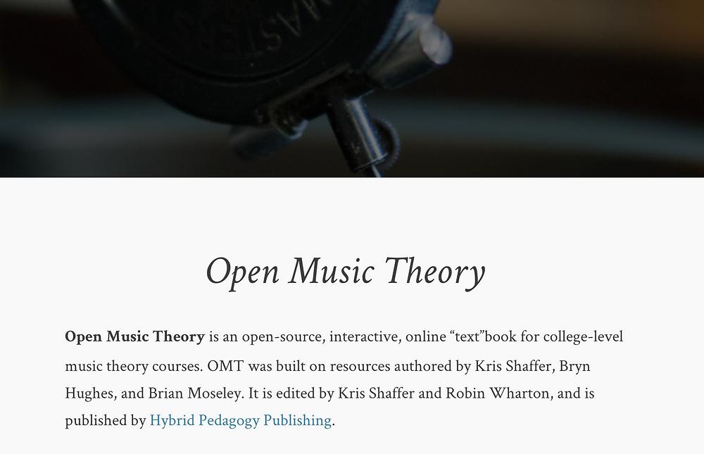Teoría - Armonía - Contrapunto - Postonal