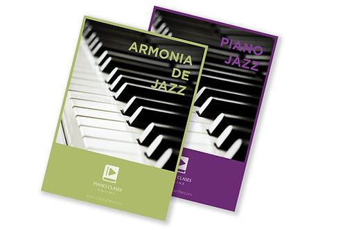 CURSOS 2 x 1 Armonia Jazz + Piano Jazz
