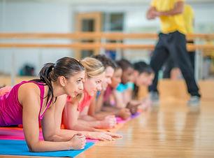 Lezione di fitness