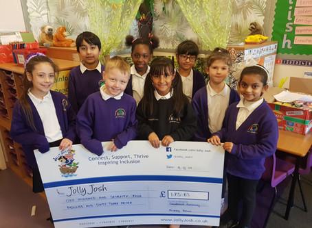 A Sweet Donation from Sandbrook Community Primary School.