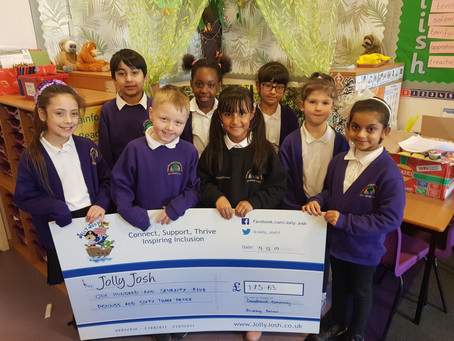 A Sweet Donation from Sandbrook Community Primary School.