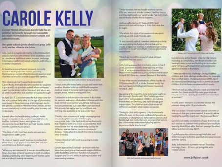 Jolly Josh in Real Rochdale Magazine