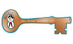 Jolly Josh Bronze Key