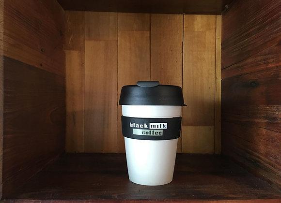 Keep Cup 12oz Black Milk Coffee